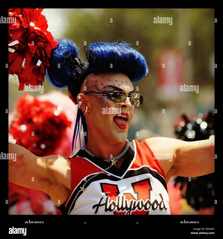 Los Angeles Pride Parade 2012 Stock Photo