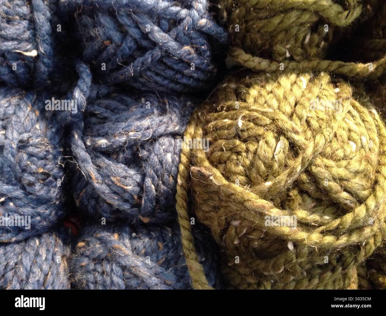 Skein of yarn - Stock Image