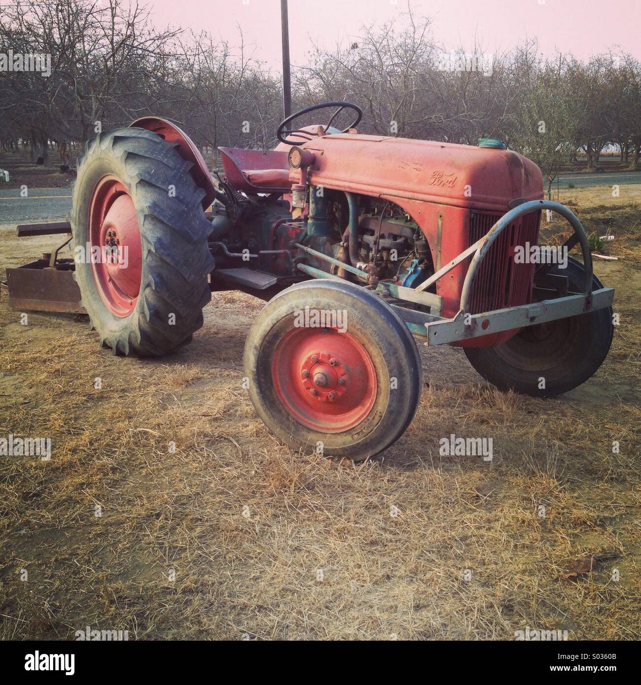 8n Tractor Stock Photos Images Alamy Ford Vintage Image