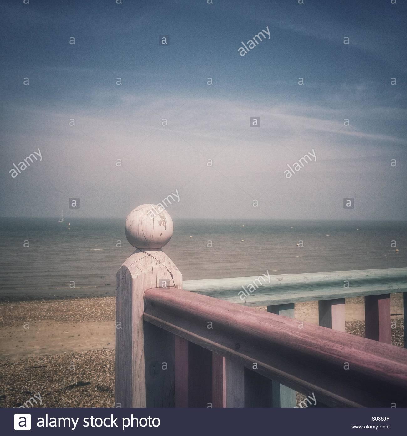 Seaside Retro - Stock Image
