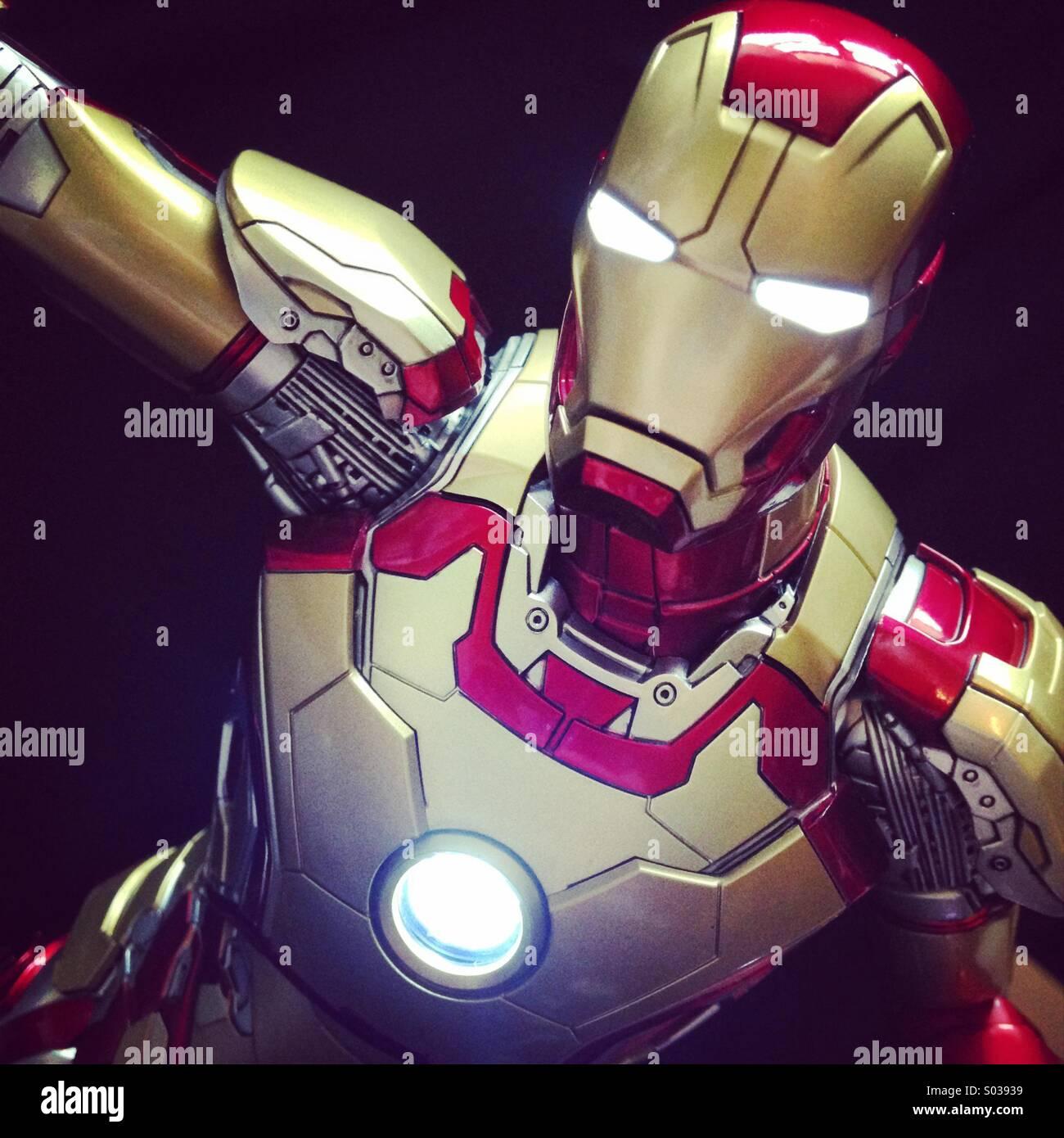 Iron Man Comic Book Stock Photos & Iron Man Comic Book