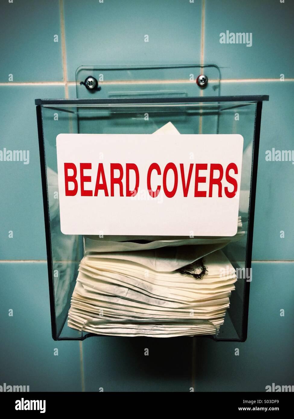 Beard covers - Stock Image