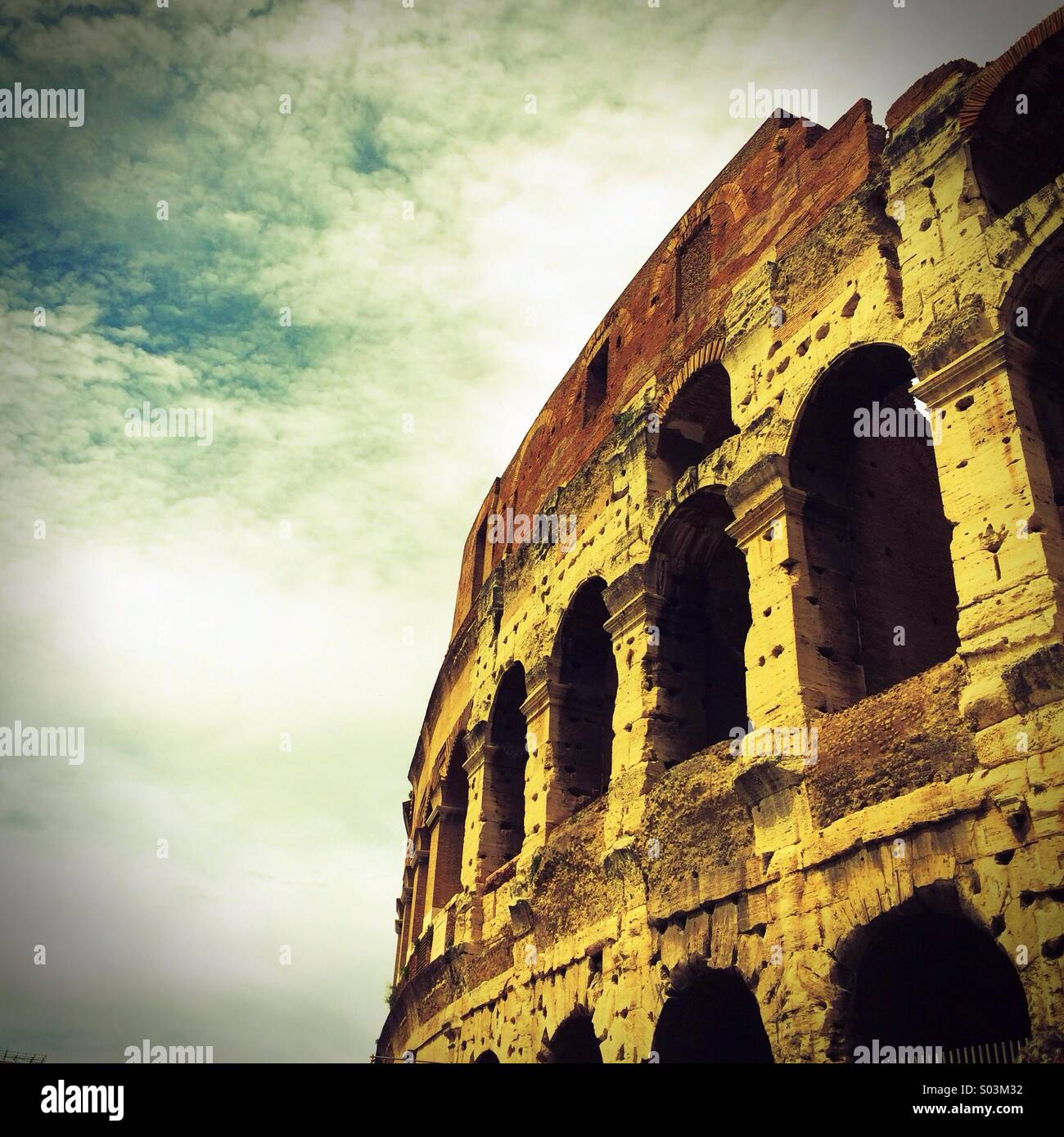 Colosseum, Rome,Italy Europe - Stock Image