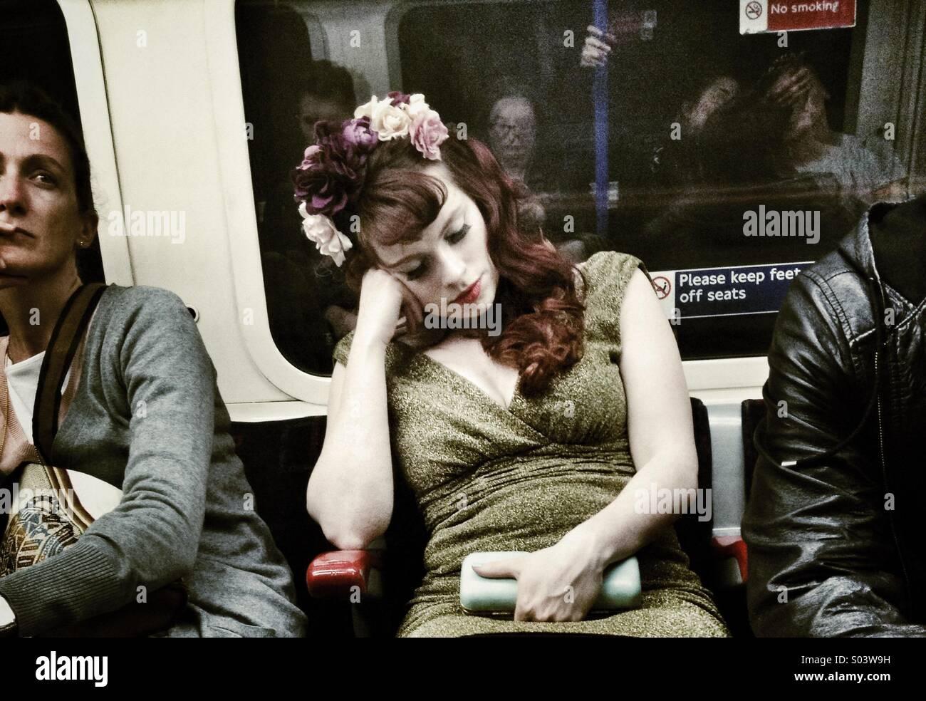 Sleeping Beauty - Stock Image