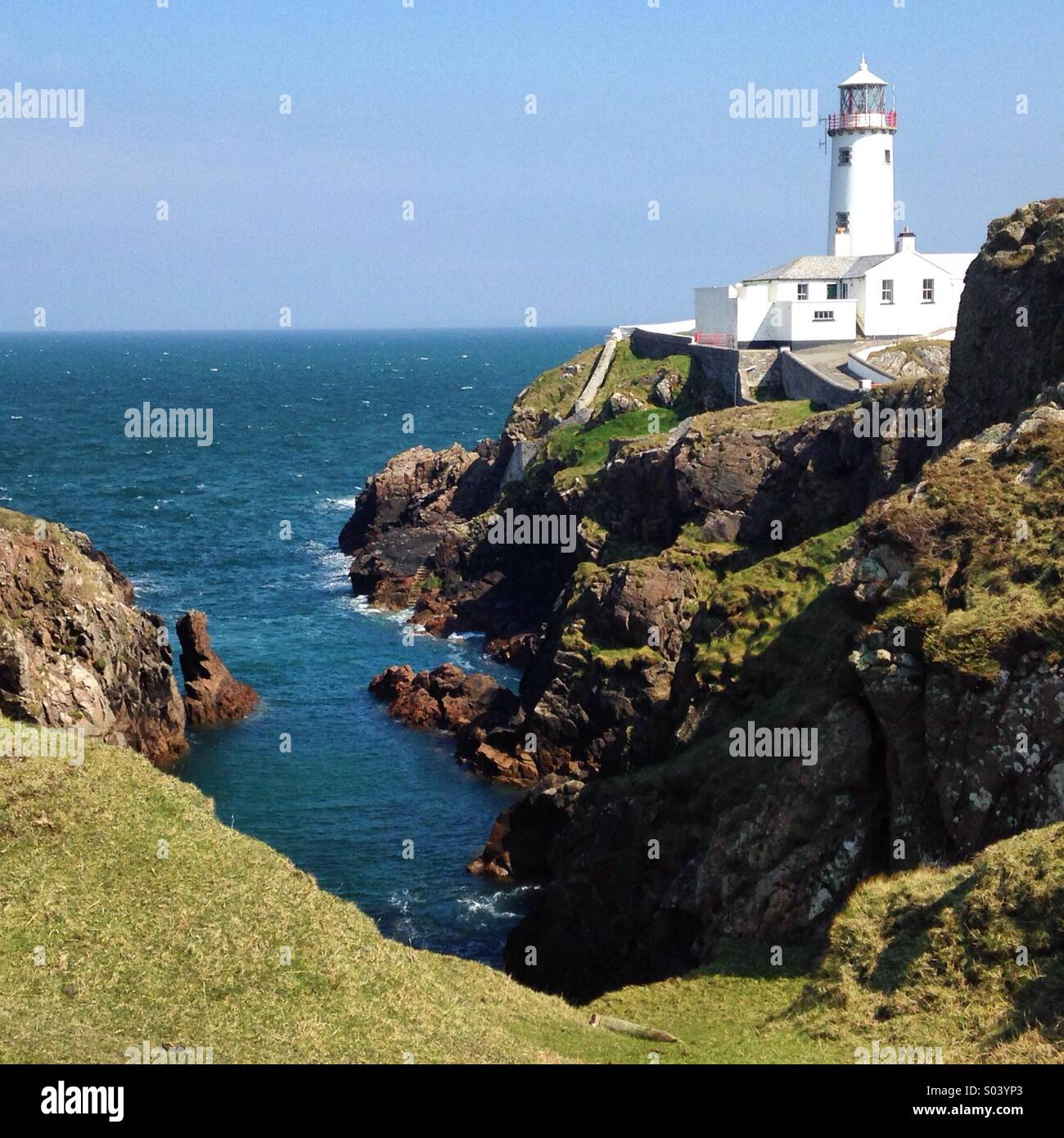 Fanad Lighthouse, Donegal - Stock Image