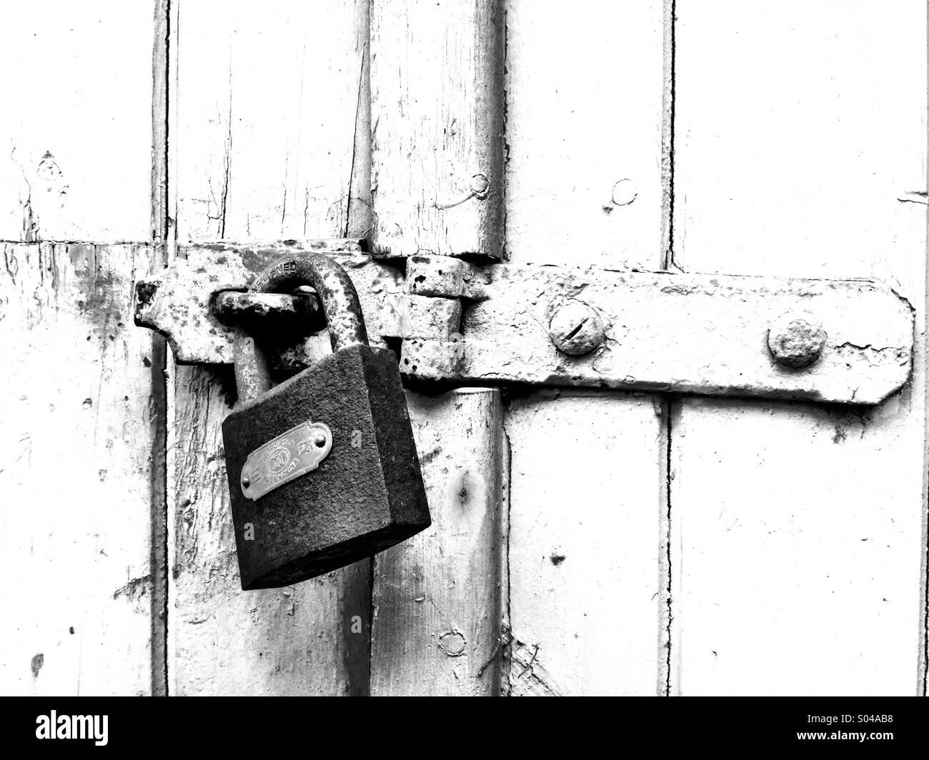 Locked - Stock Image