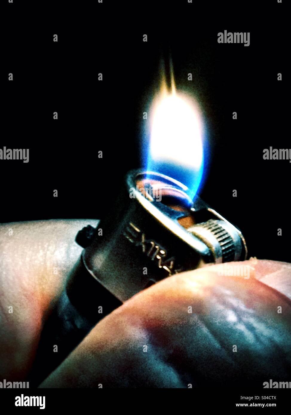 Lighter - Stock Image
