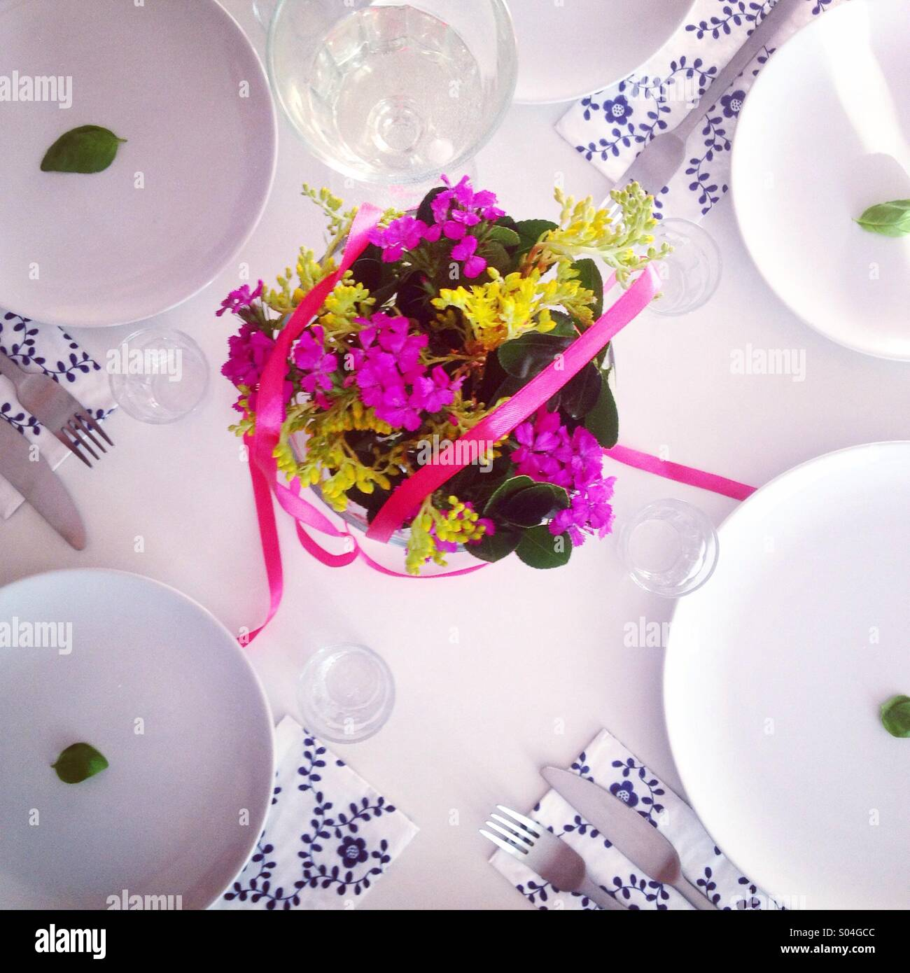 Table decoration - Stock Image