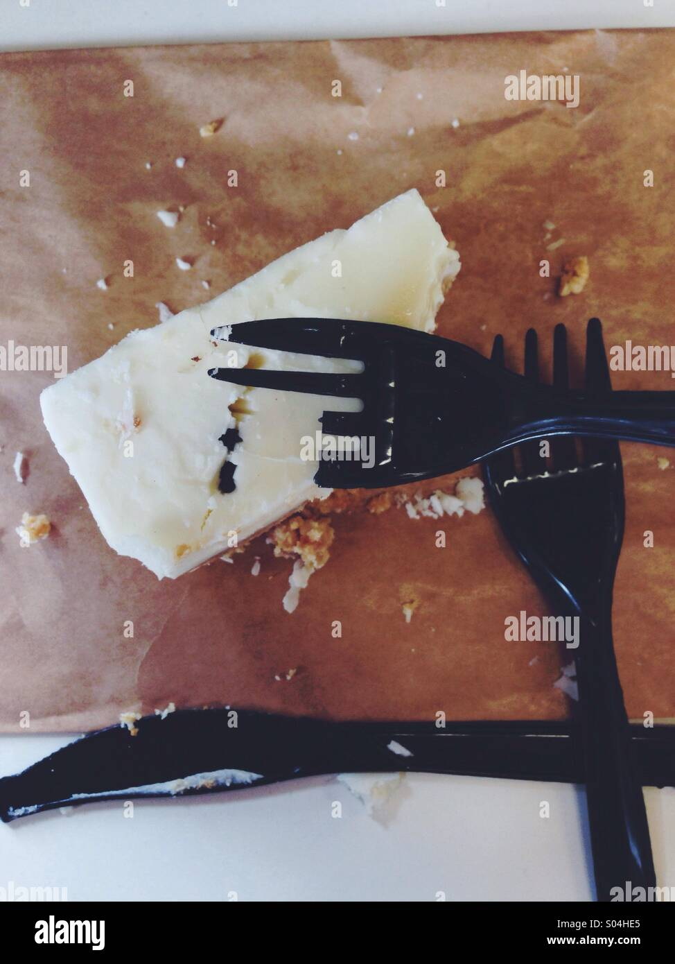 One fork wasn't enough - Stock Image