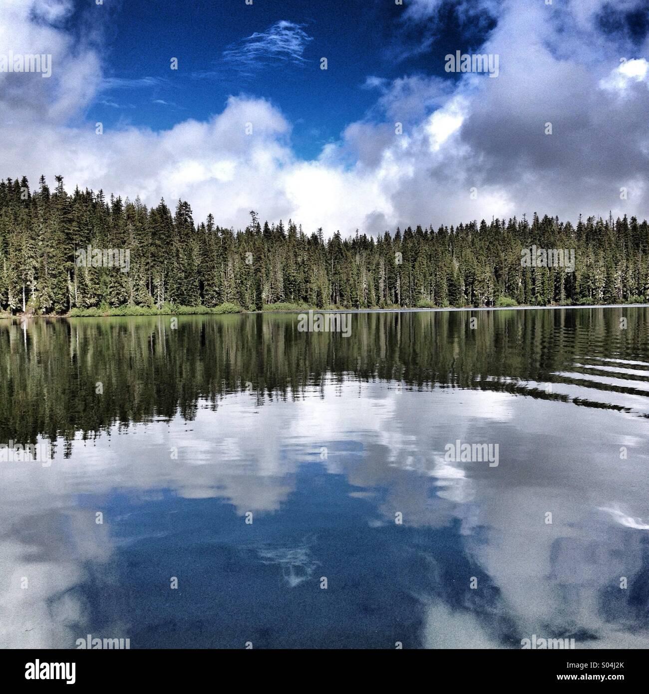 Lake Taklakh, Washington - Stock Image