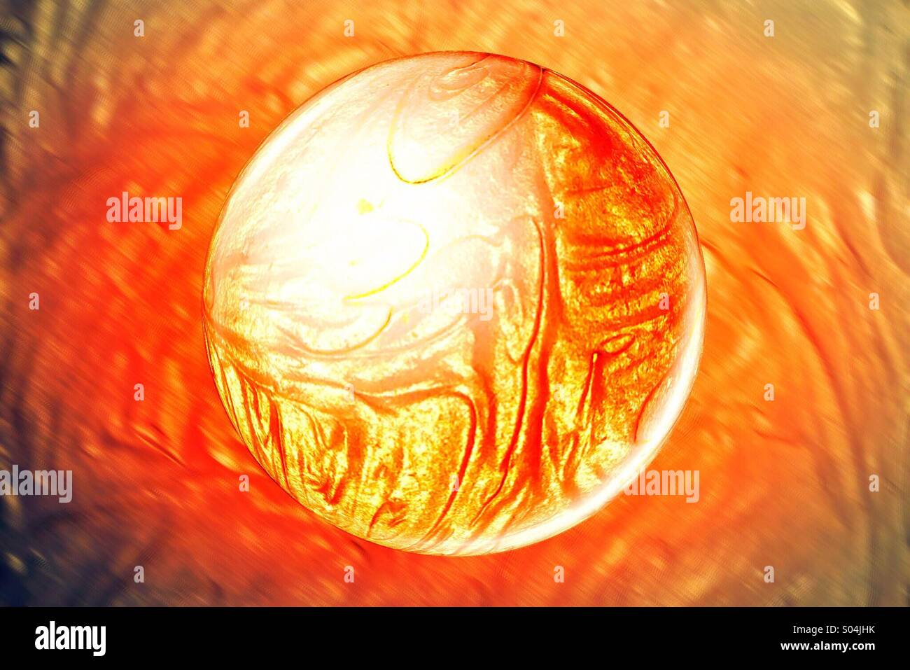 Red hot - Stock Image