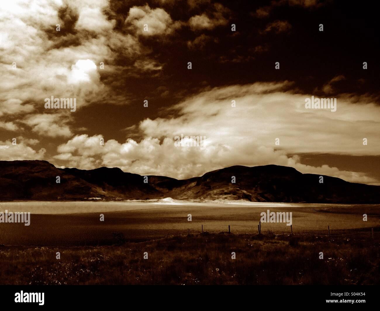 West Coast Landscape - Stock Image