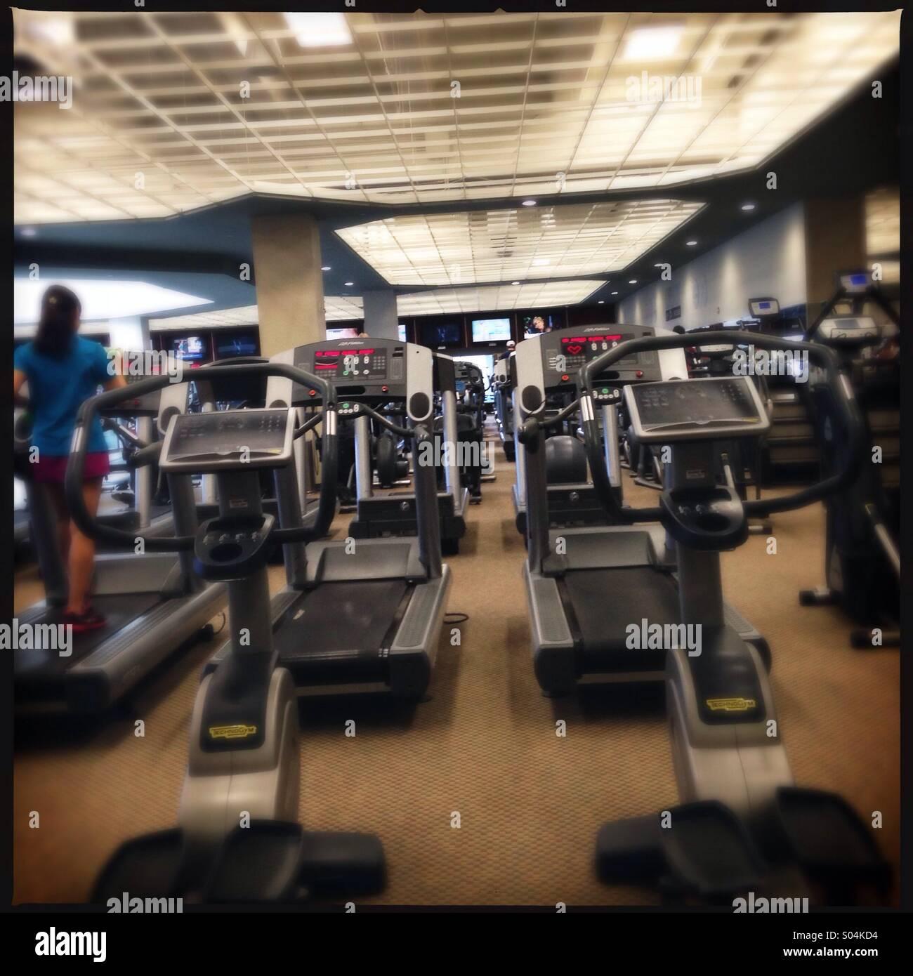 Gym - Stock Image