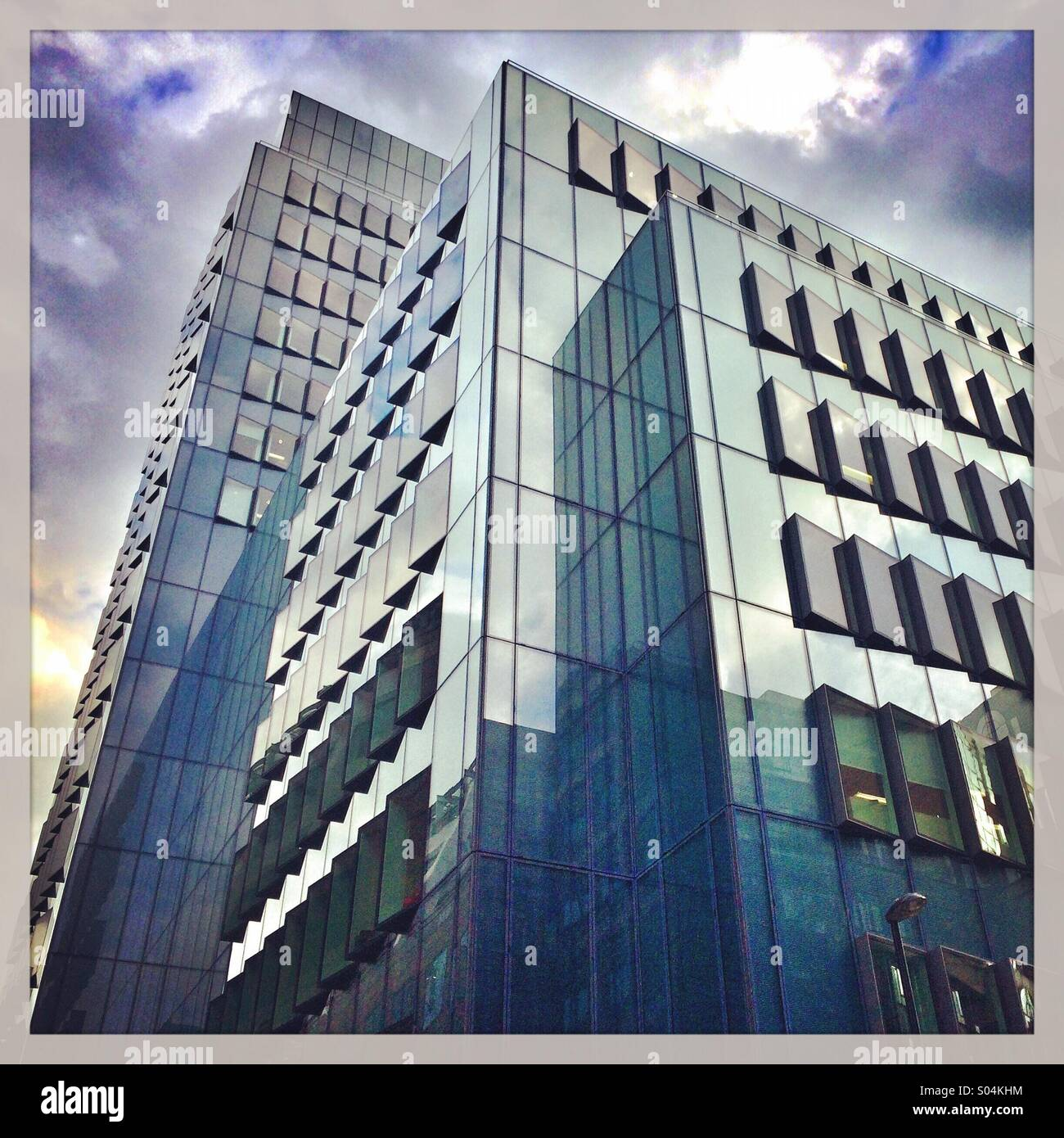 Offices block in London - Stock Image