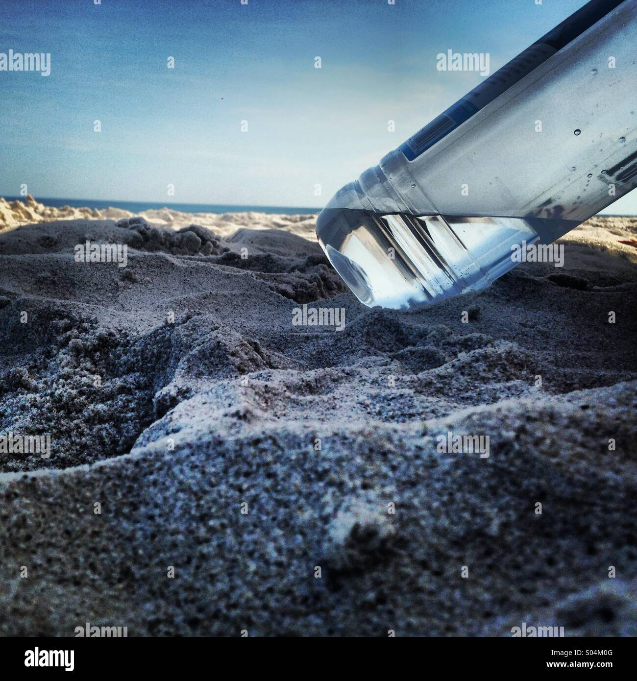 tilted horizon - Stock Image