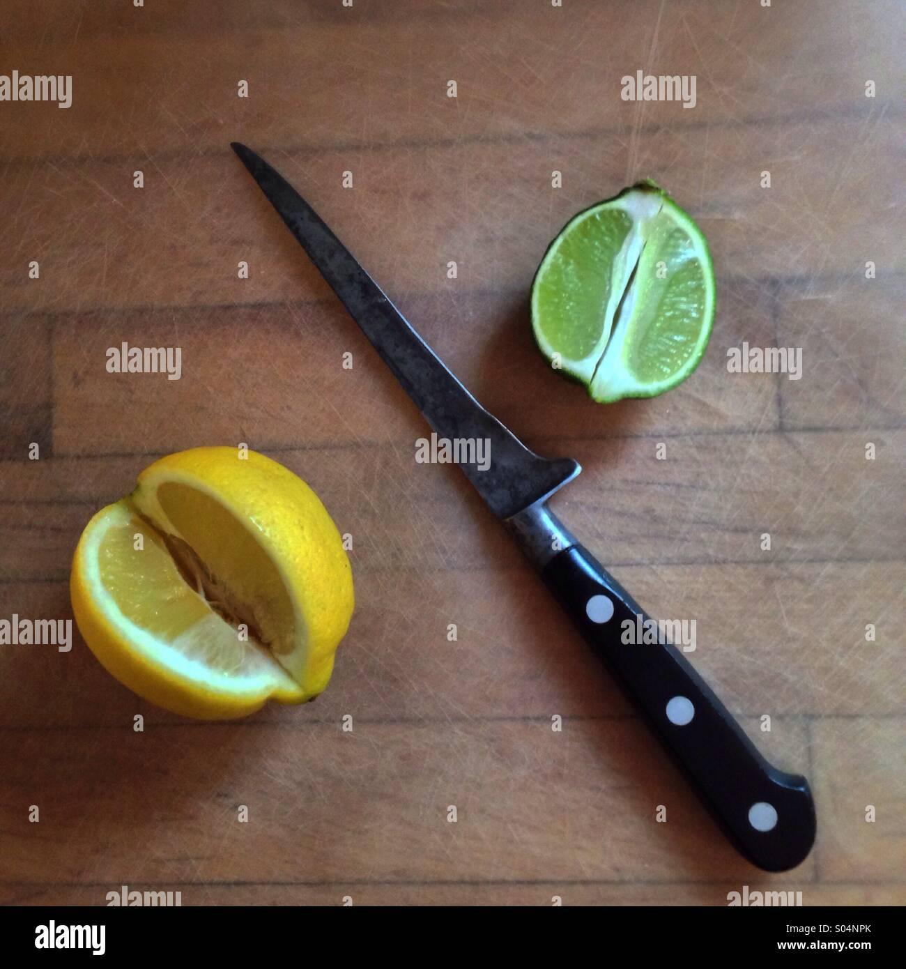 Lemon Lime - Stock Image