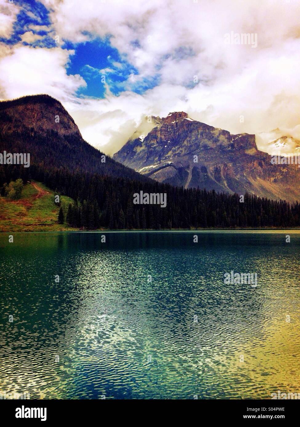 Canadian Rockies - Stock Image