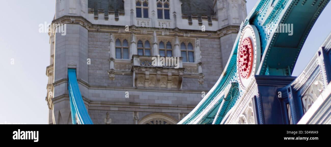 London's Tower Bridge - Stock Image