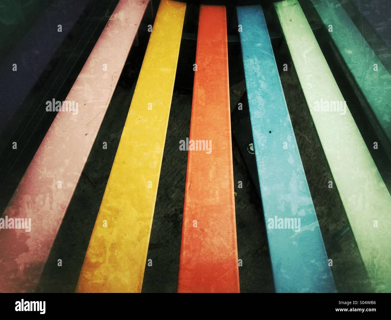 Color stripes - Stock Image