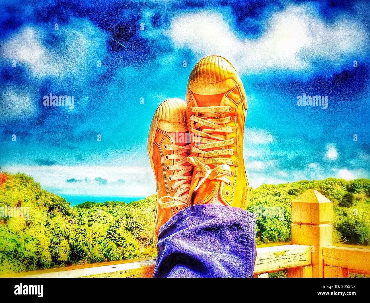 Sneakers - Stock Image