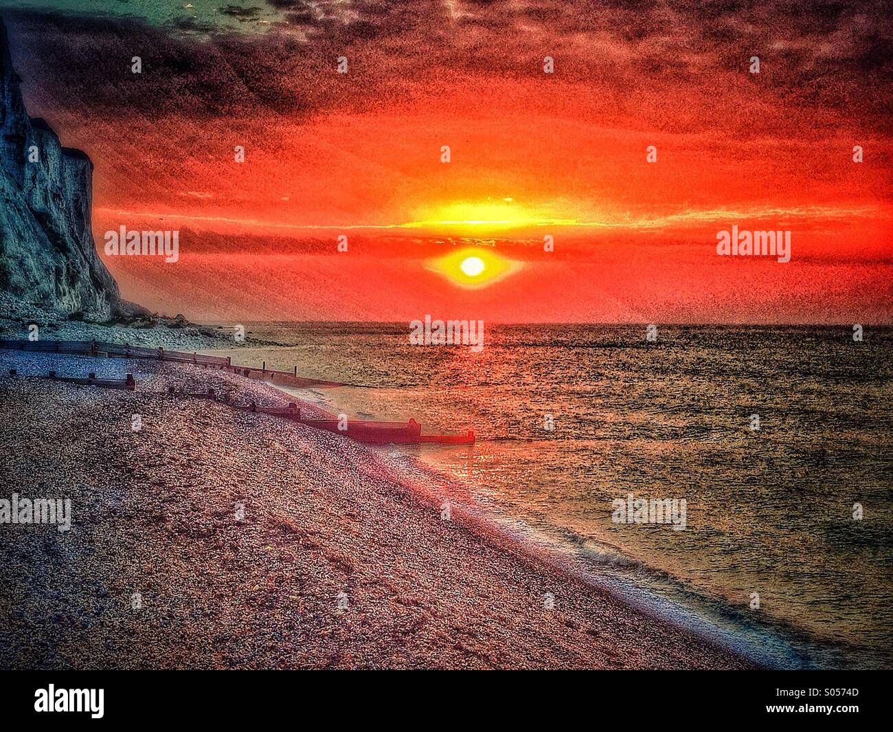 Surreal Landscape - Stock Image