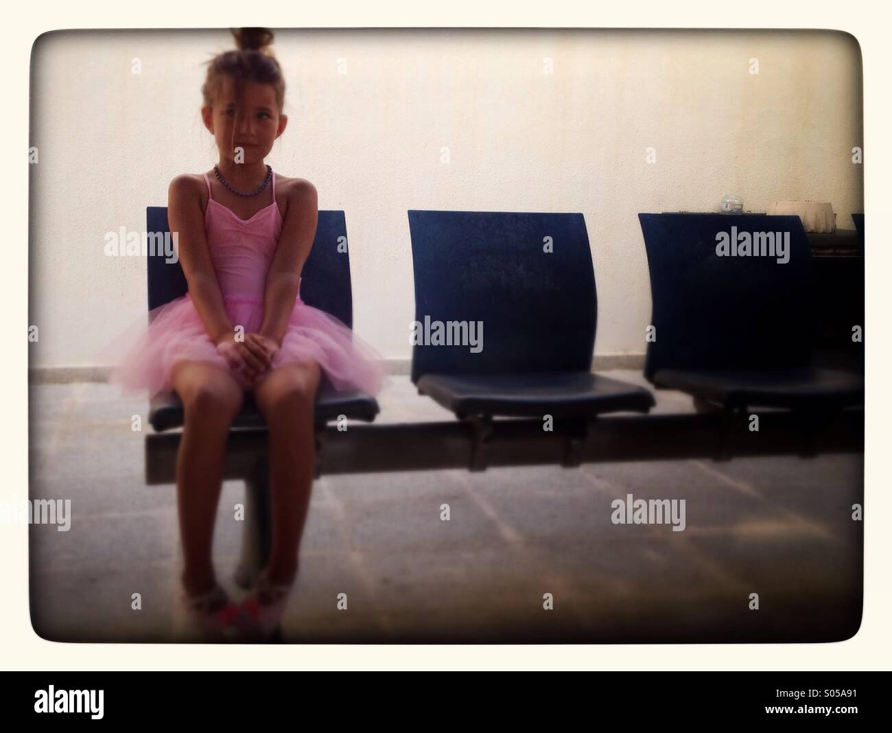 Young ballet dancer - Stock Image