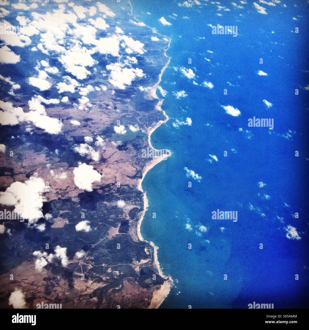 Sri Lanka coastline - Stock Image