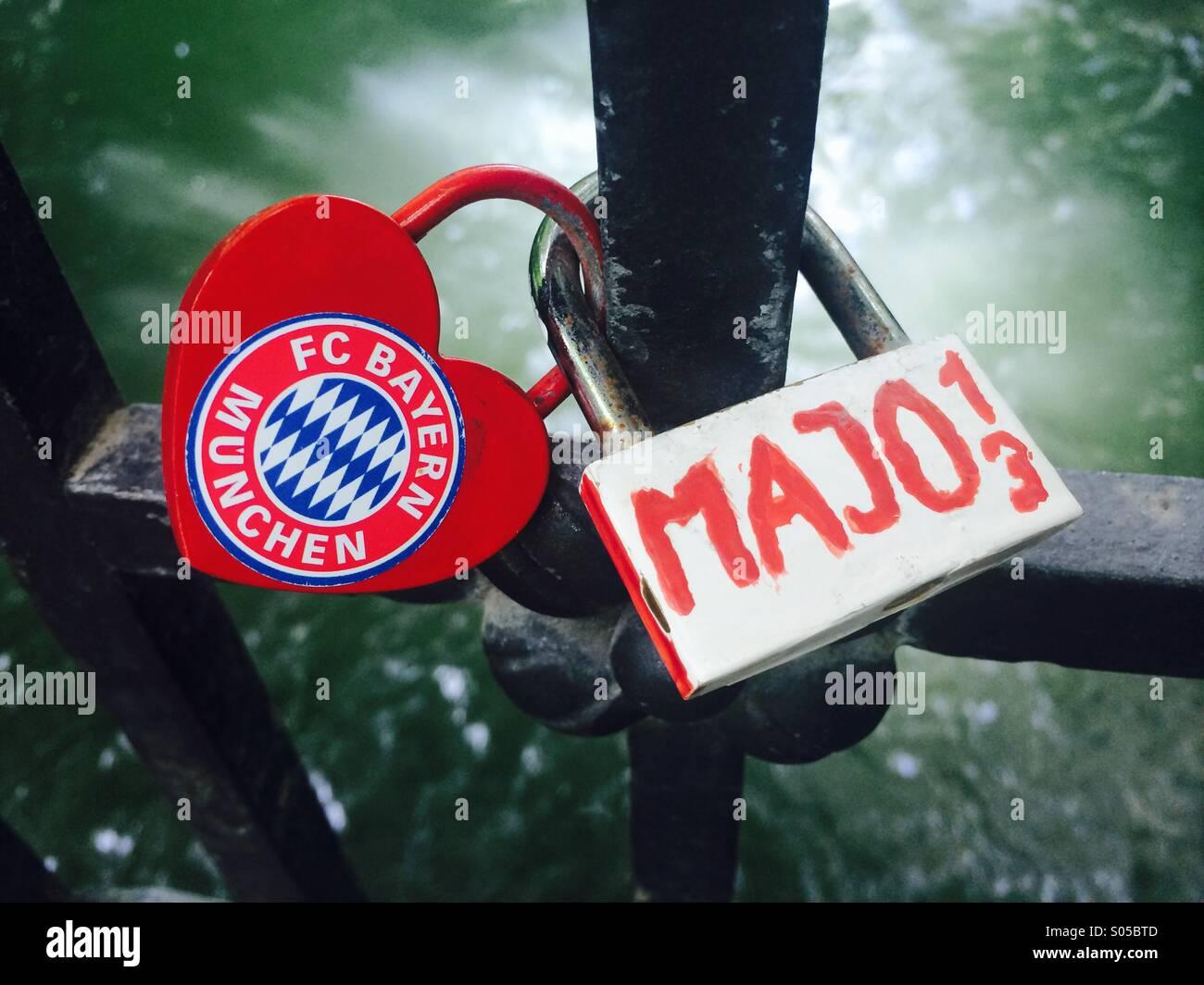 fc Bayern muenchen - Stock Image