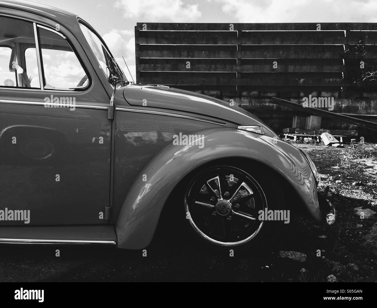 Vintage custom beetle - Stock Image