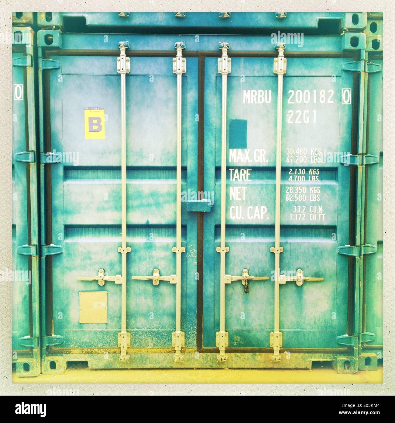 Shipping container doors  sc 1 st  Alamy & Shipping container doors Stock Photo: 309911844 - Alamy