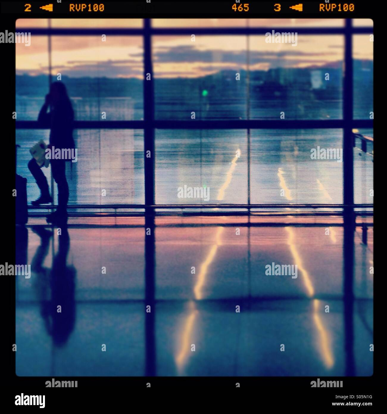 Zurich airport, Switzerland - Stock Image