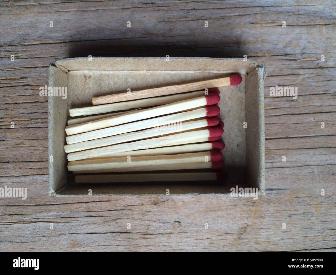 Matches - Stock Image