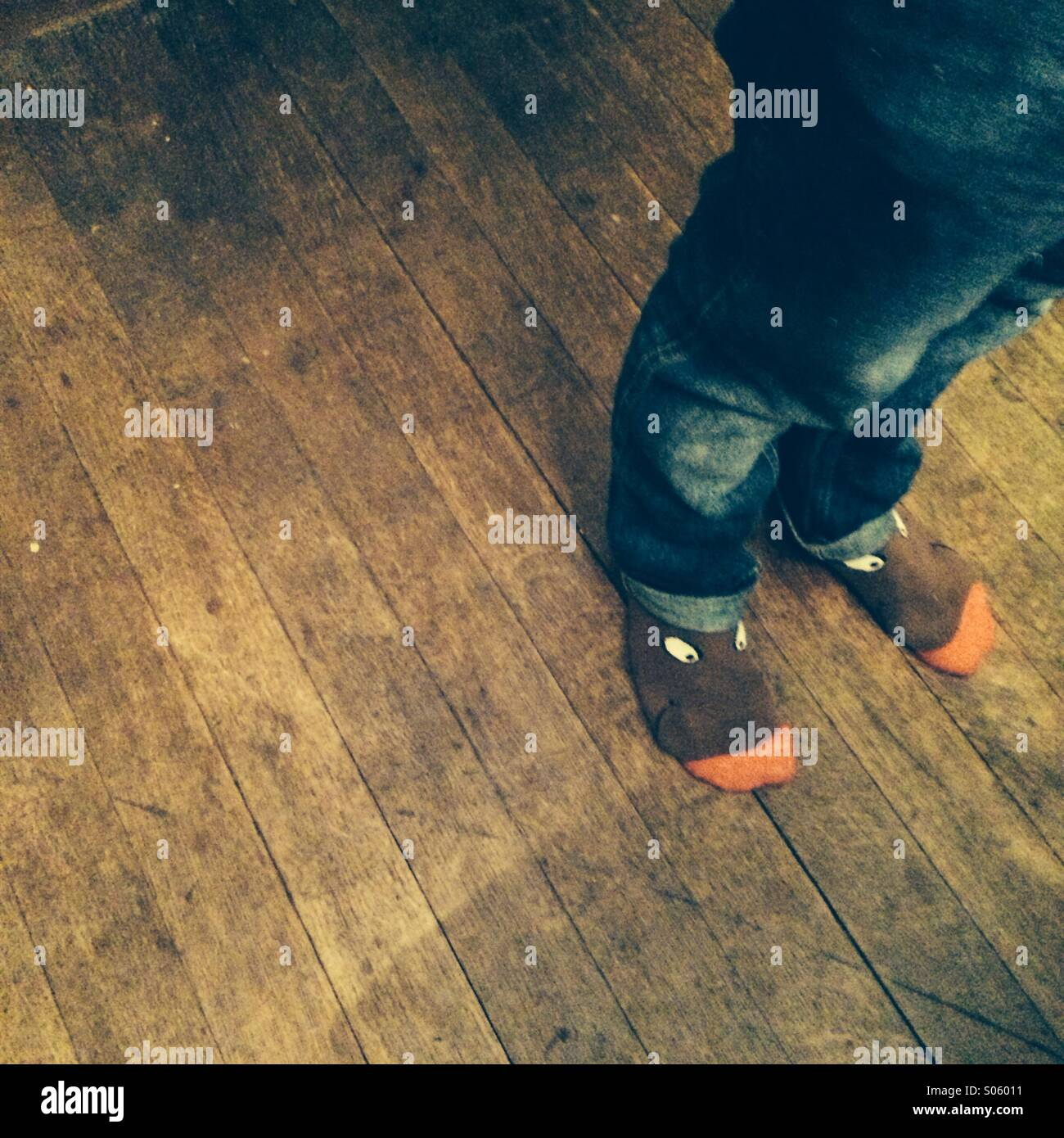 Socks - Stock Image