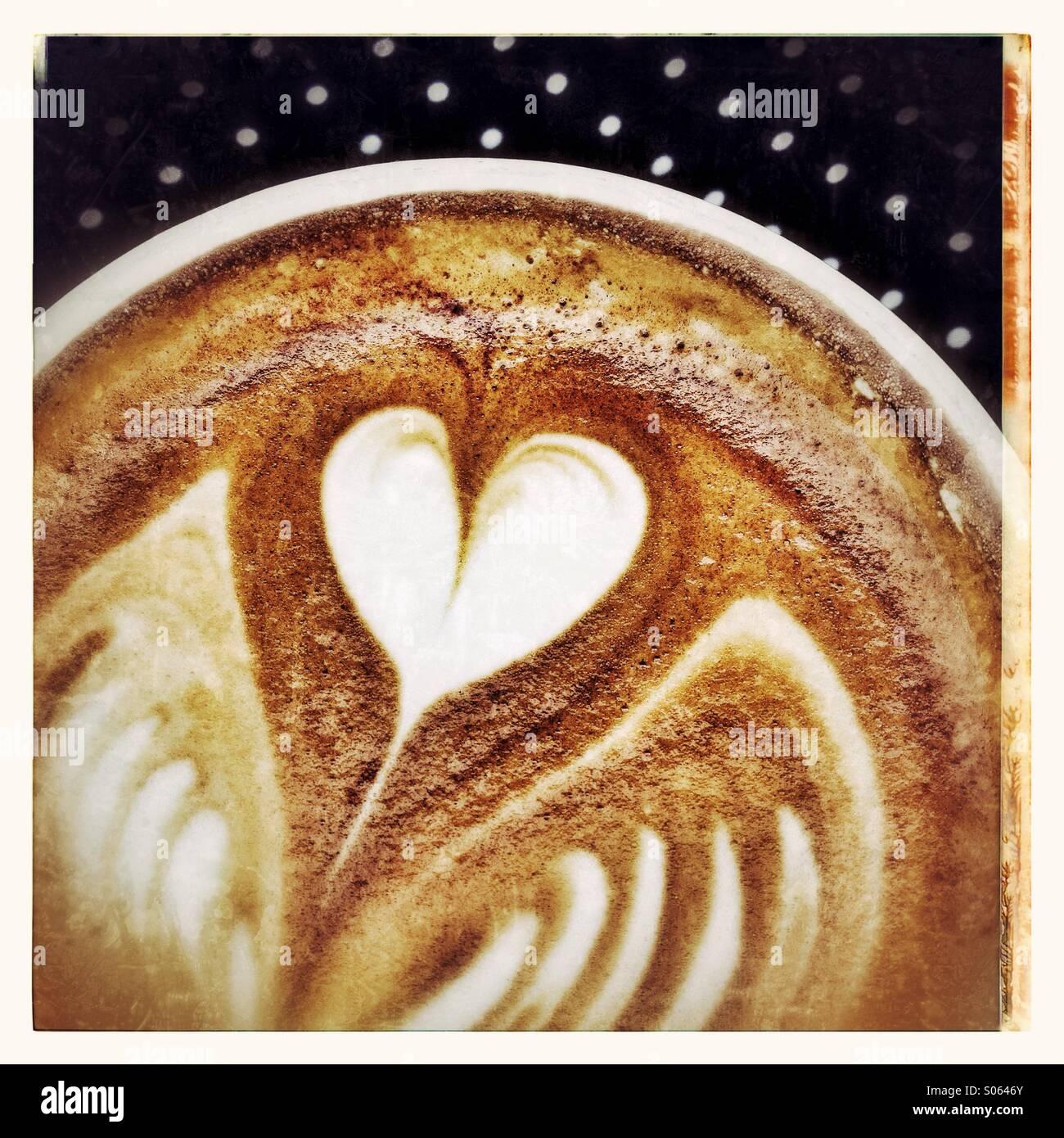 Latte - Stock Image