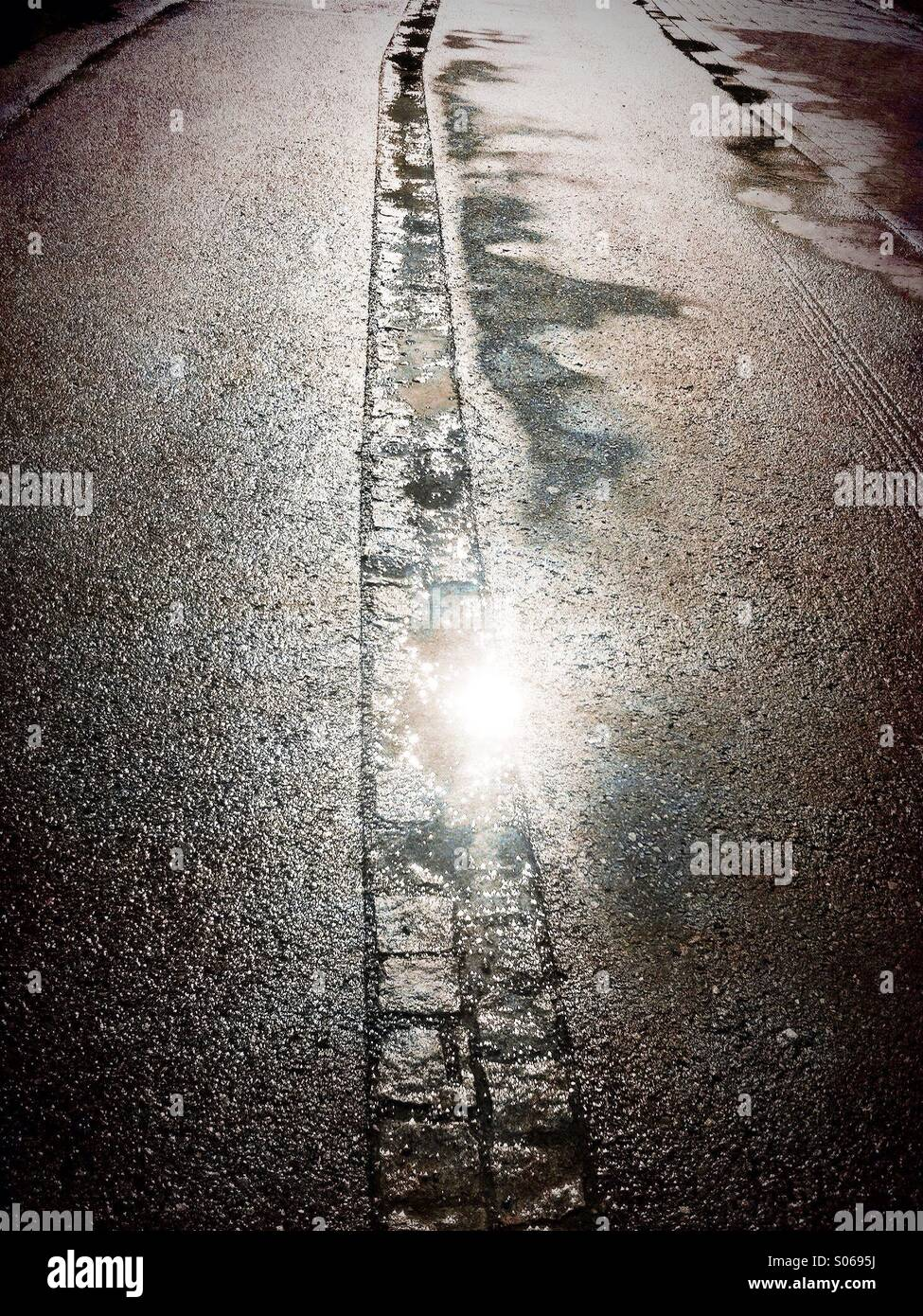 Wet asphalt - the color of calm, harmony and practicality 75