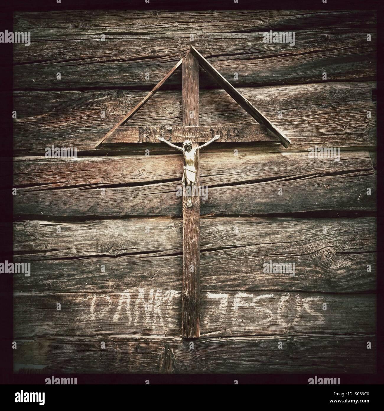 Thank You Jesus - Stock Image