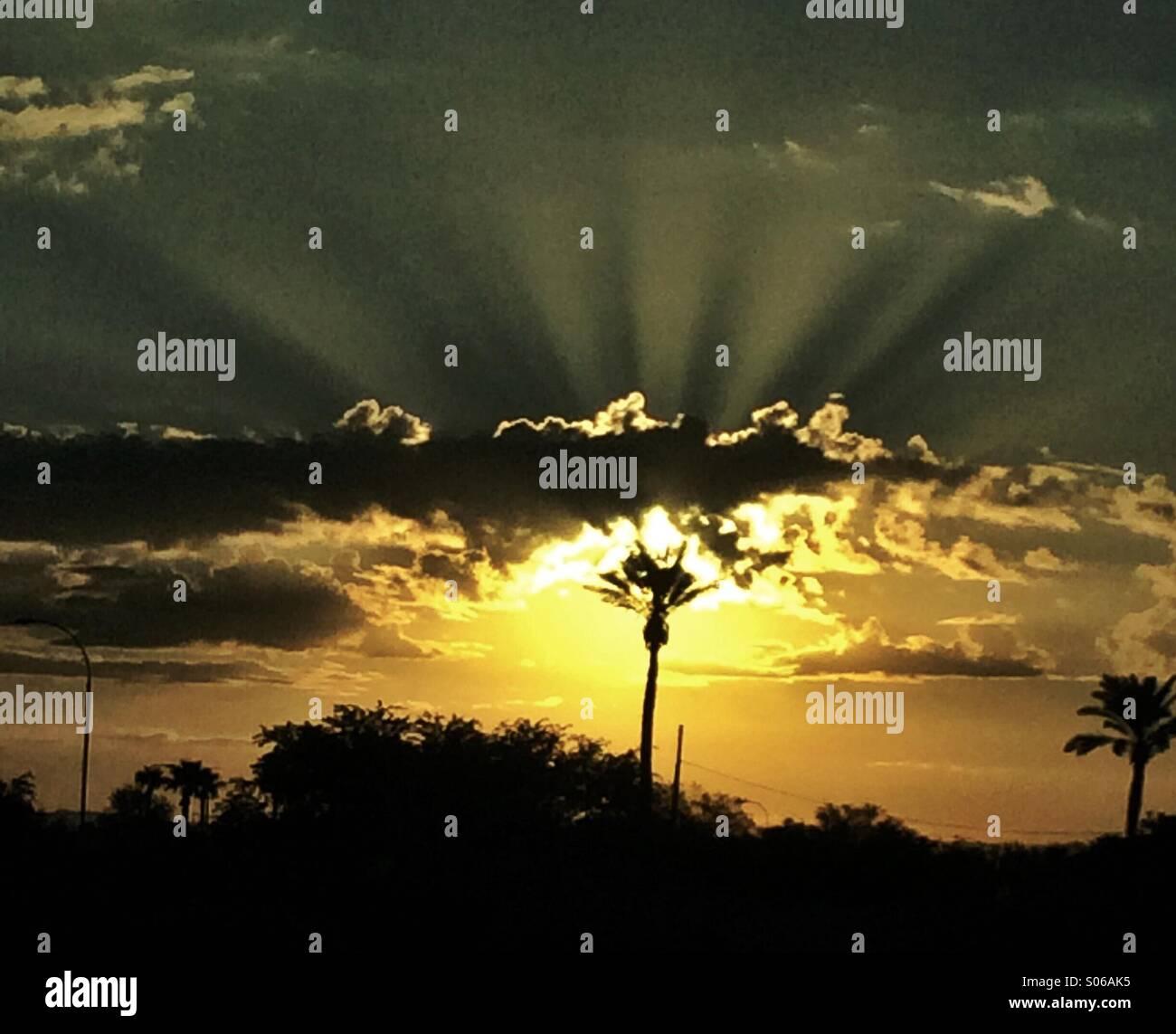 Glorious Sunrise - Stock Image