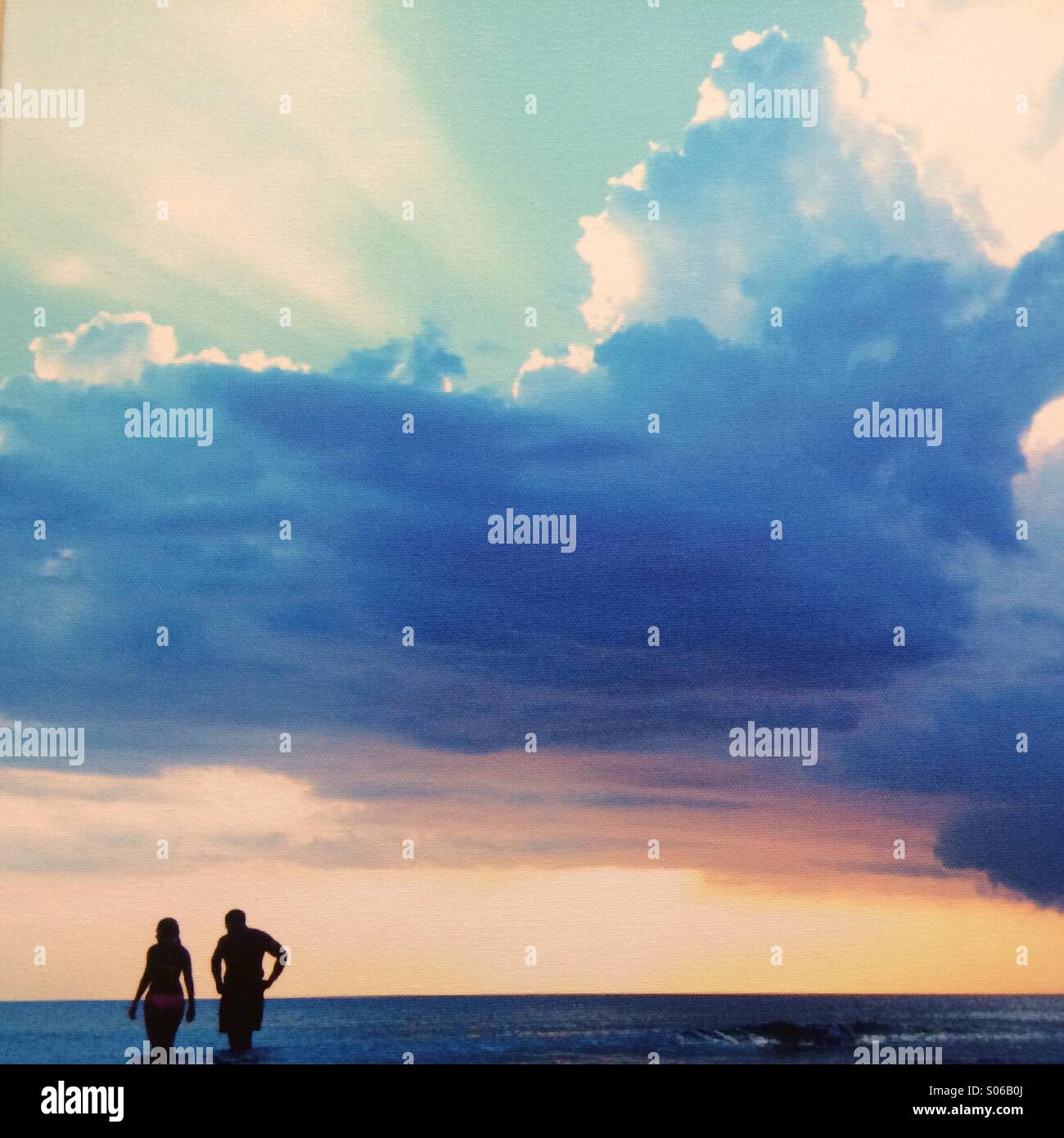 Storm show - Stock Image