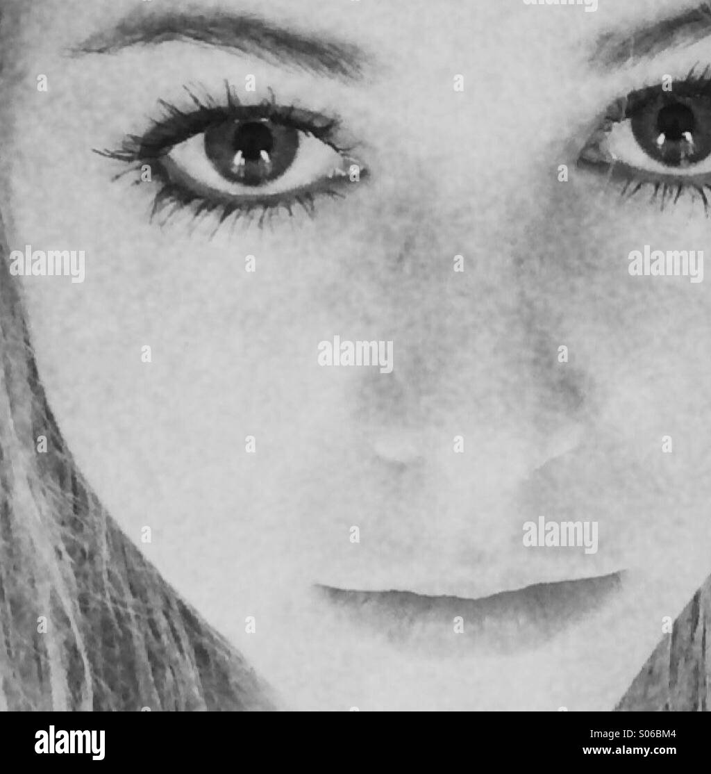 Girl portrait - Stock Image