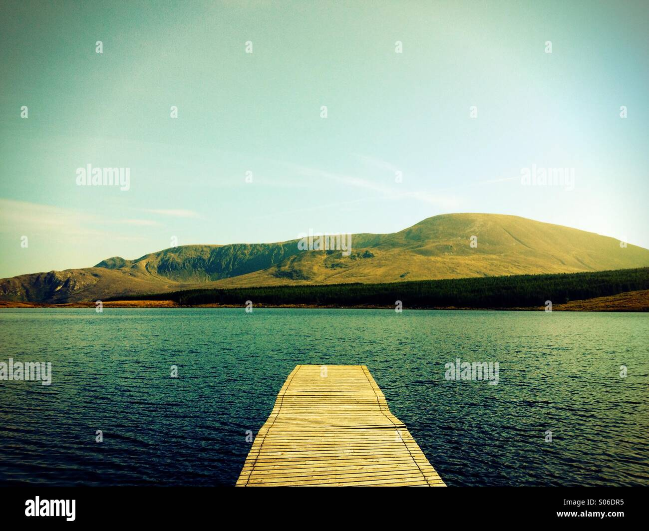 Donegal Lake - Stock Image