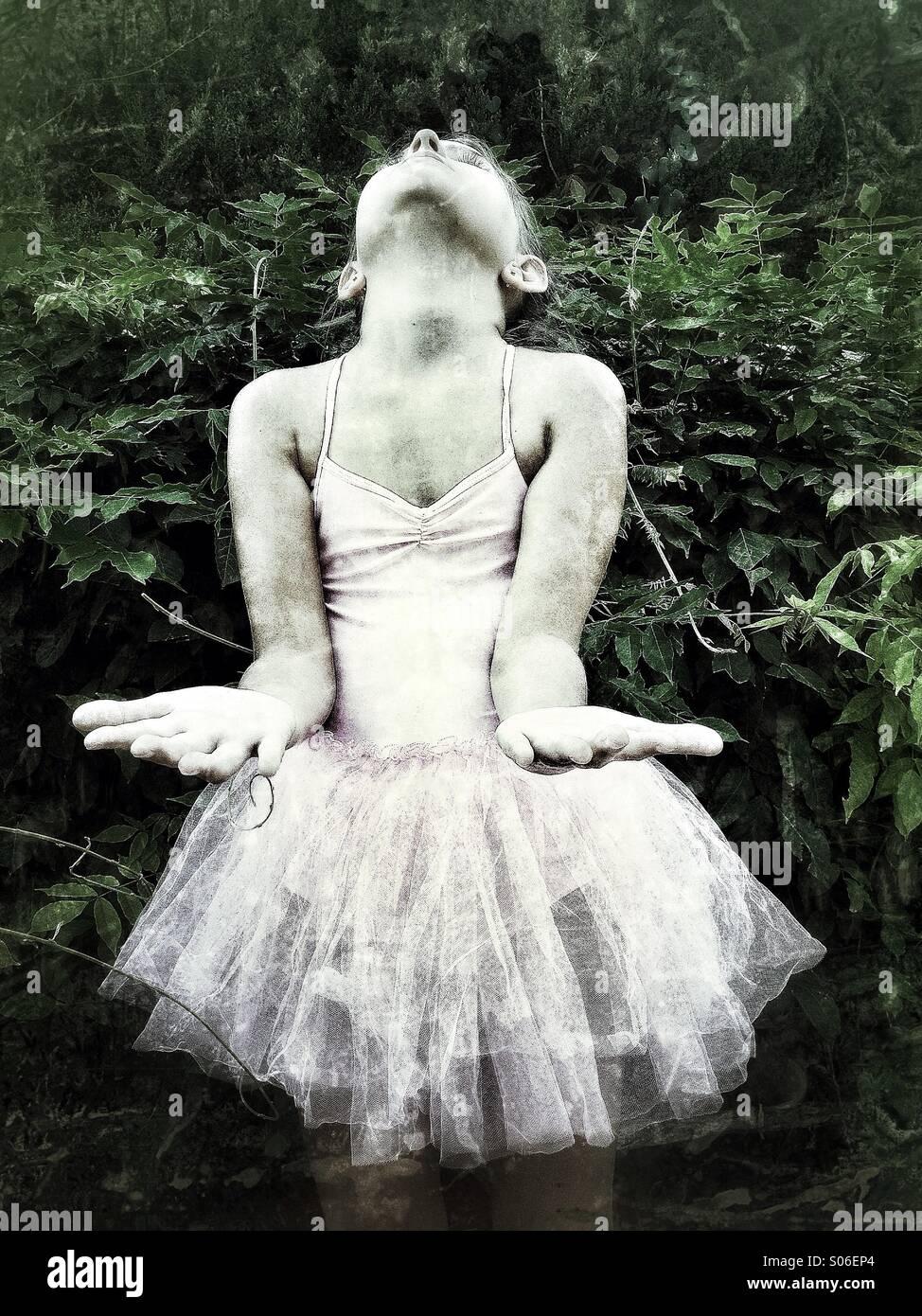 Ballet girl - Stock Image