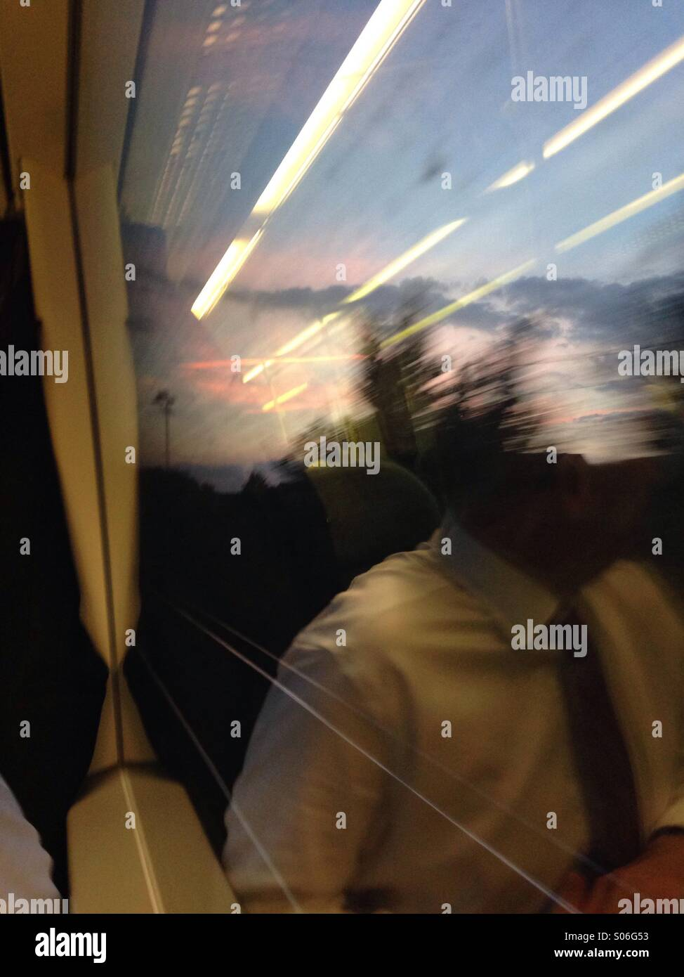Commute - Stock Image