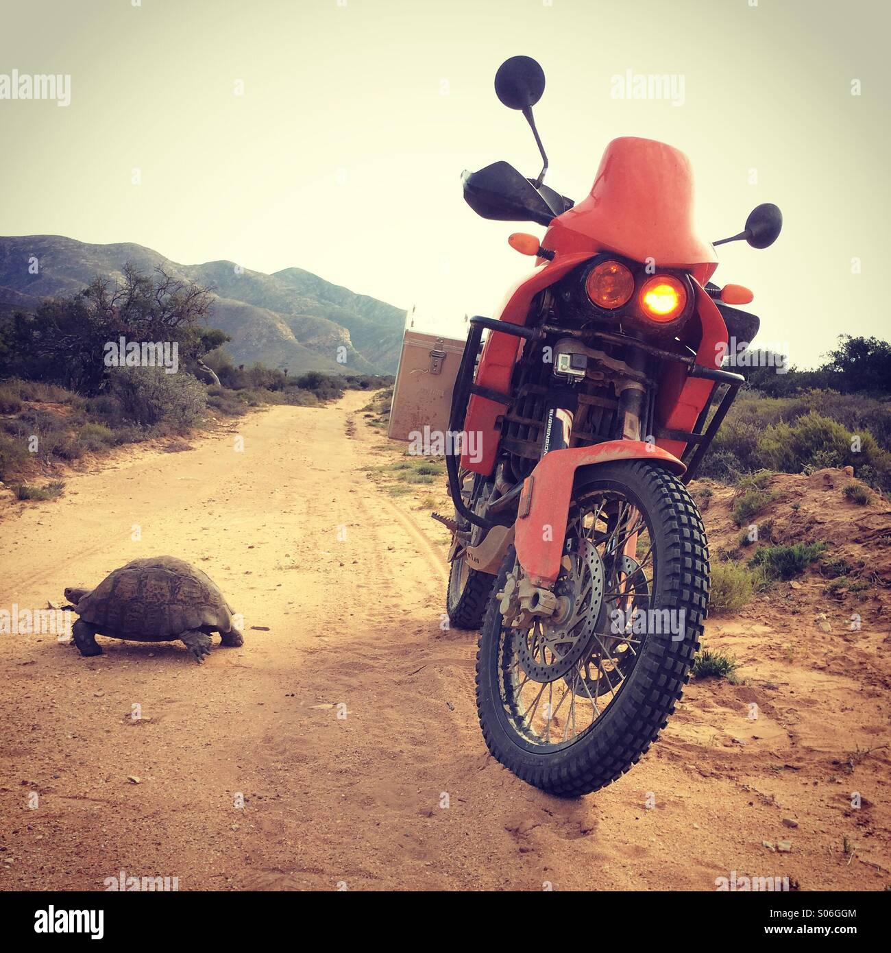 Off-road touring - Stock Image