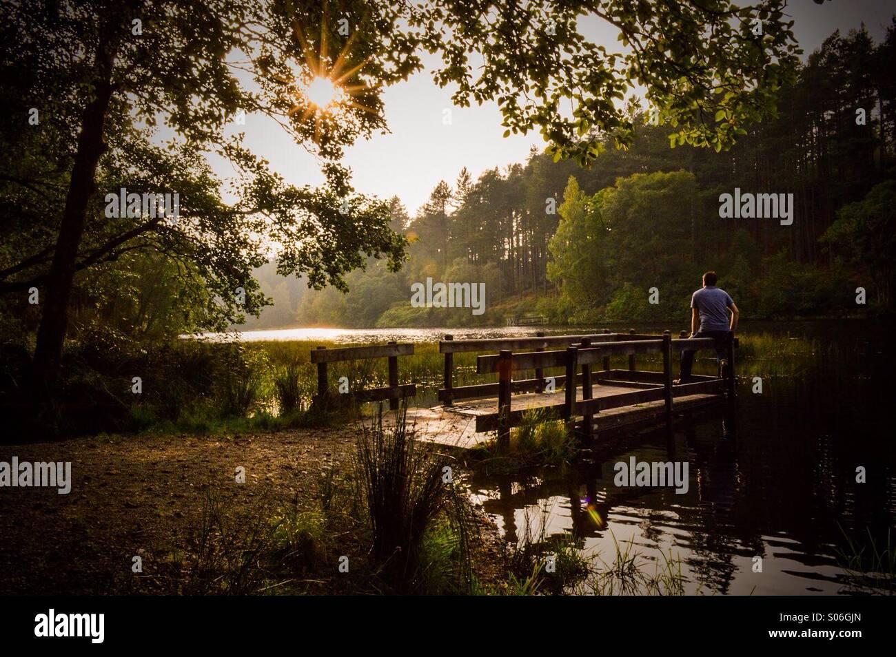 Glencoe Lochan - Stock Image