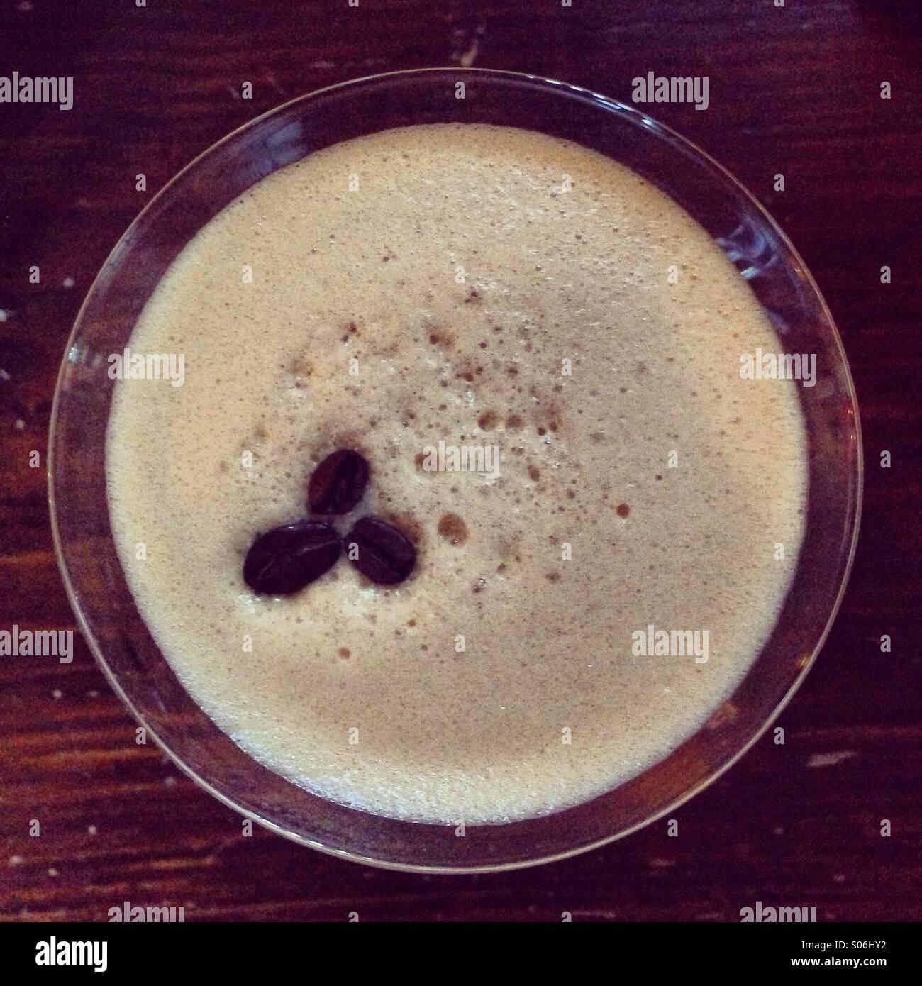 Espresso martini - Stock Image