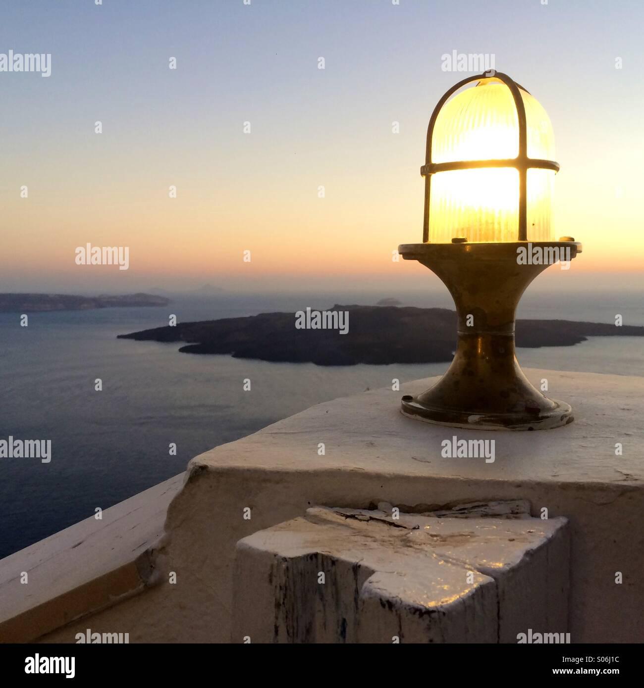 Light up the island - Stock Image