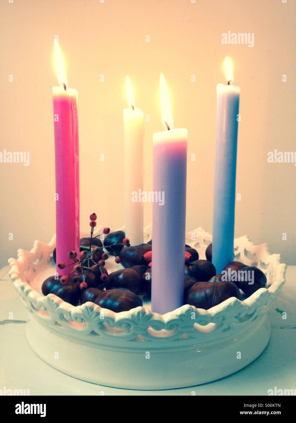Kerzenlicht Stock Photo