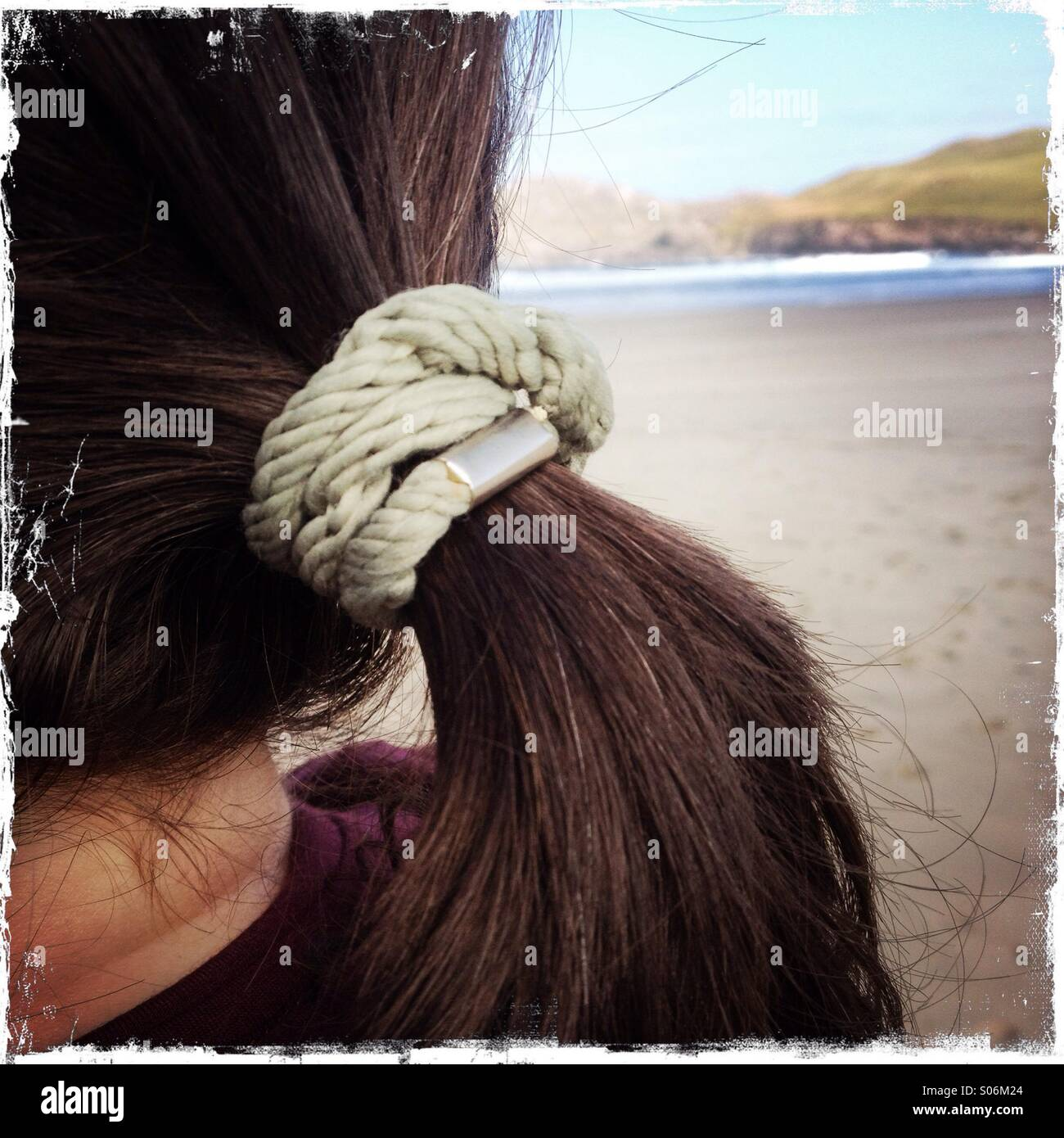 Ponytail - Stock Image