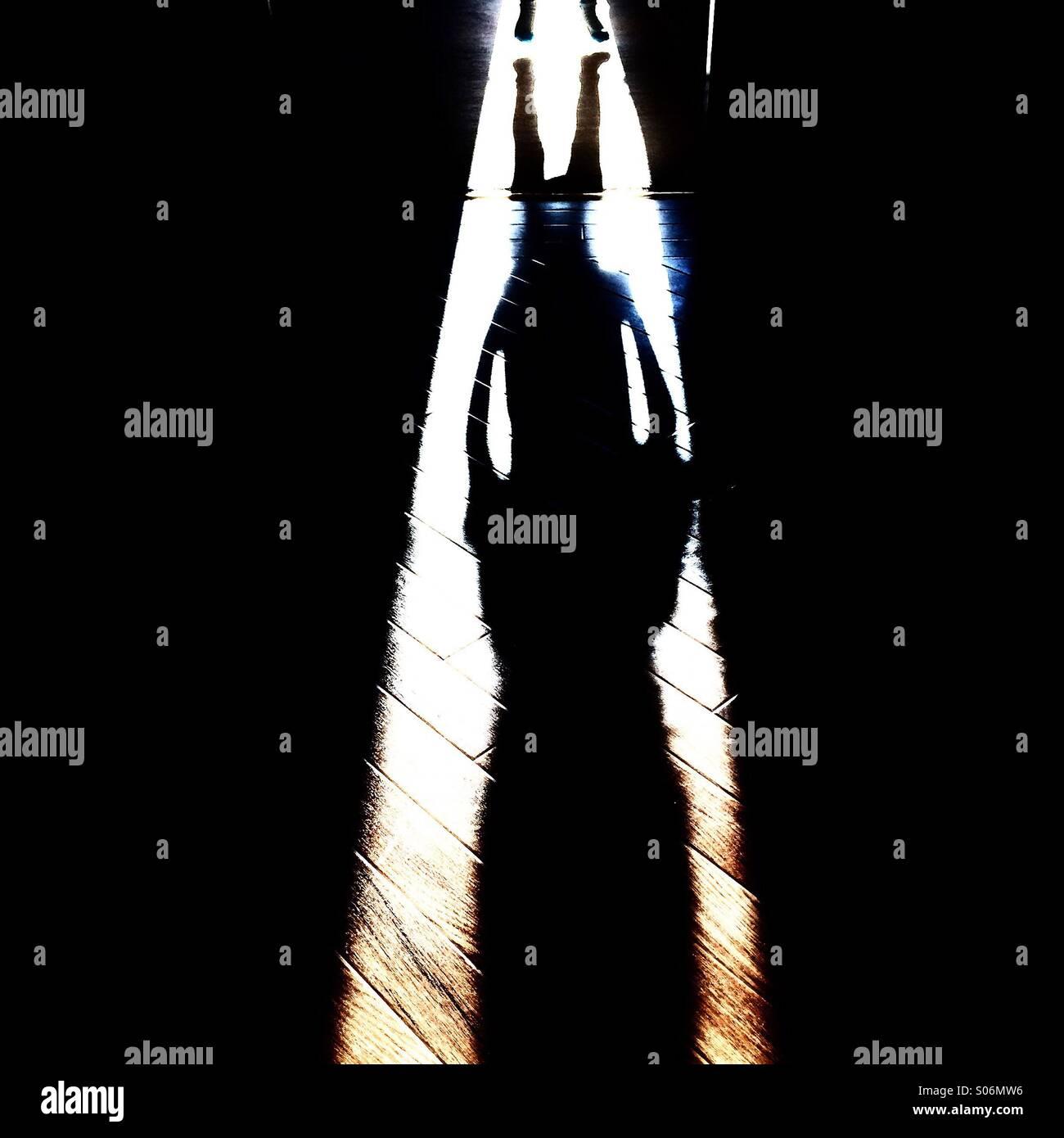 Jump! - Stock Image