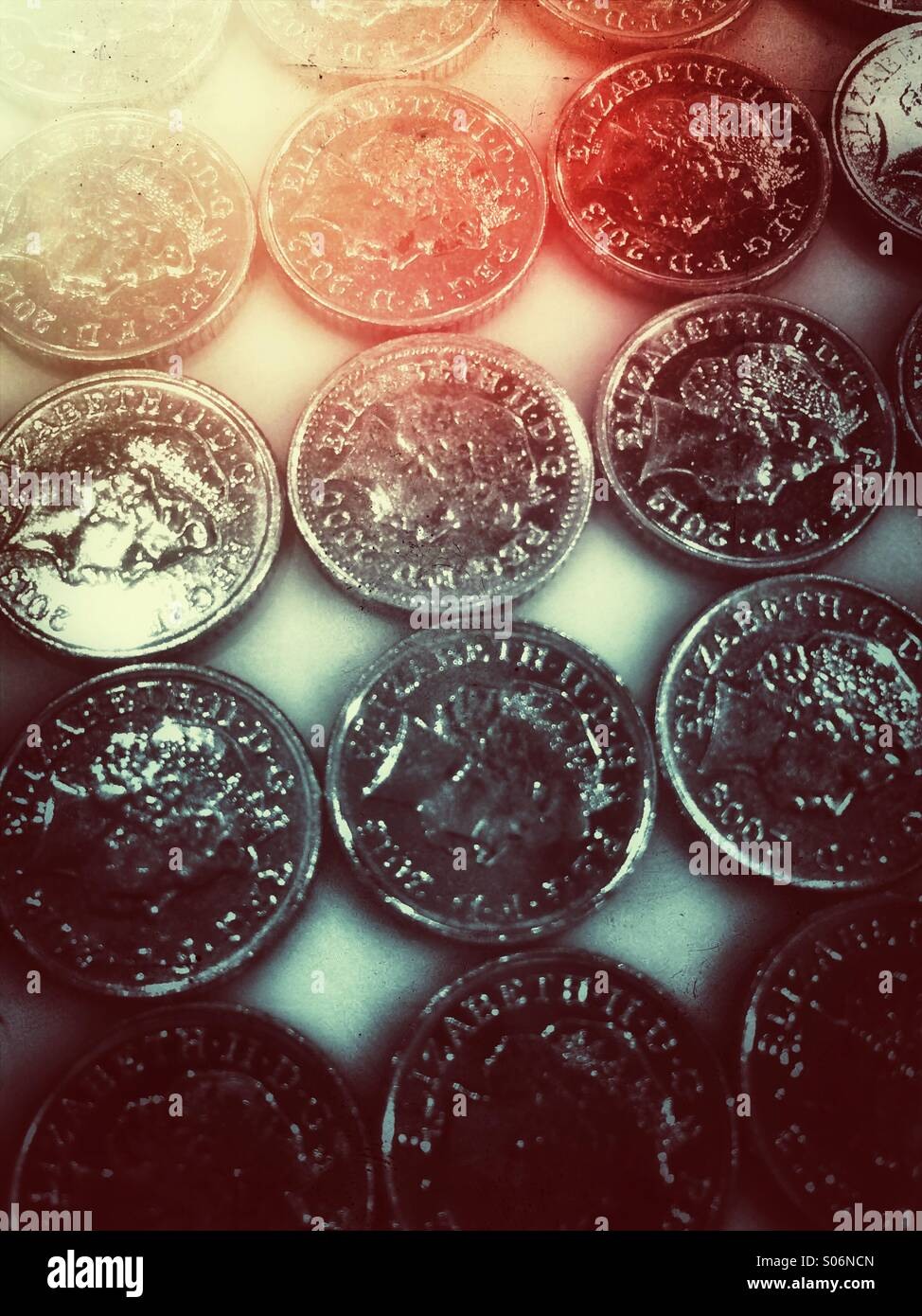 Coins - Stock Image